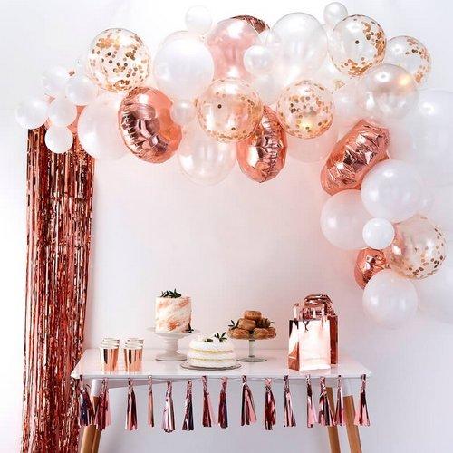 bruiloft-decoratie-ballonnenboog-rose-gold (1)