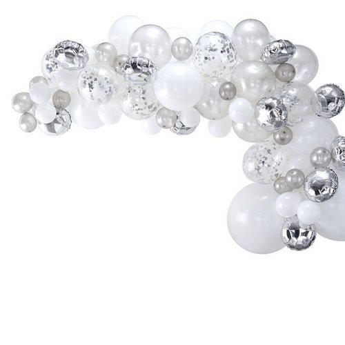 bruiloft-decoratie-ballonnenboog-silver (2)