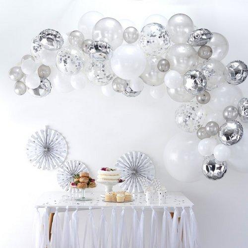 bruiloft-decoratie-ballonnenboog-silver (4)