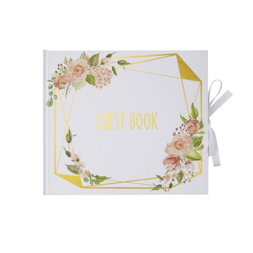 bruiloft-decoratie-gastenboek-geo-floral-2