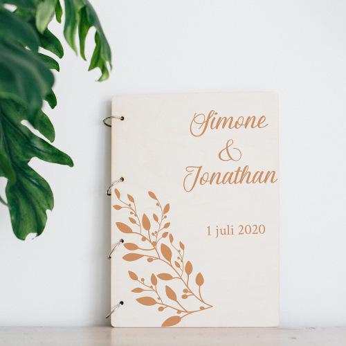 bruiloft-decoratie-gastenboek-hout-olijftak-2