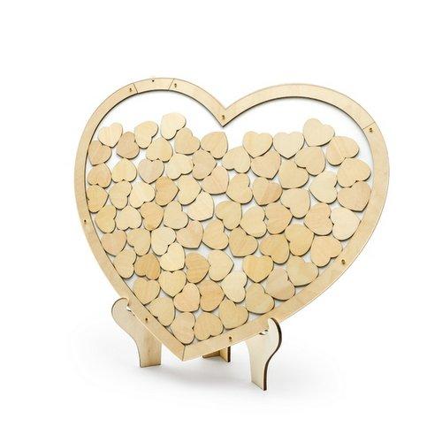 bruiloft-decoratie-houten-frame-gastenboek-bohemian-heart