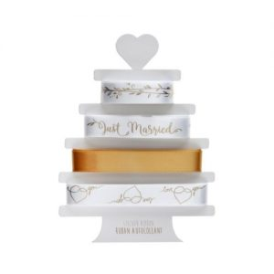 bruiloft-decoratie-lint-just-married-goud