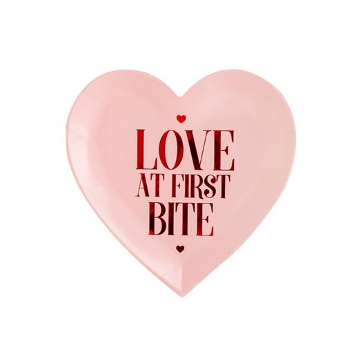 bruiloft-decoratie-papieren-bordjes-love-at-first-bite-be-my-valentine