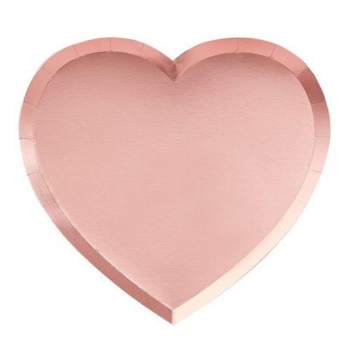 bruiloft-decoratie-papieren-bordjes-pink-heart-be-my-valentine