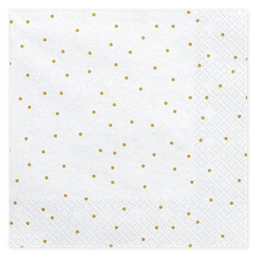 bruiloft-decoratie-servetten-golden-dots