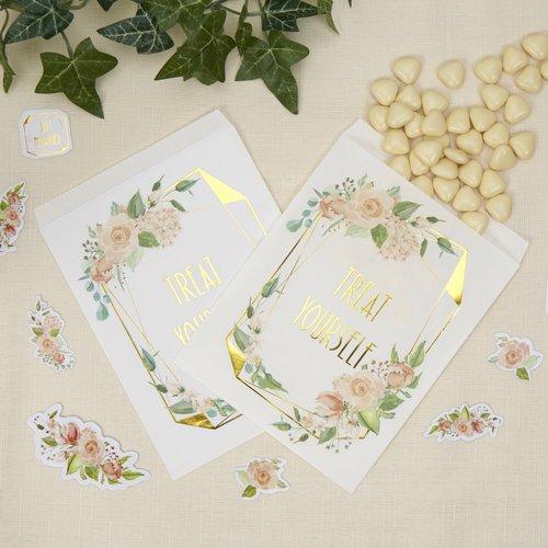 bruiloft-decoratie-snoepzakjes-geo-floral