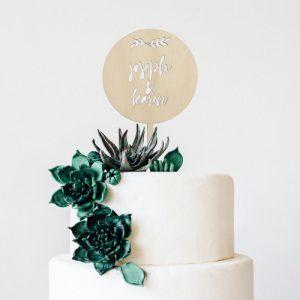 bruiloft-decoratie-taarttopper-leaves-gepersonaliseerd