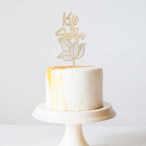 bruiloft-decoratie-taarttopper-tropical-gepersonaliseerd