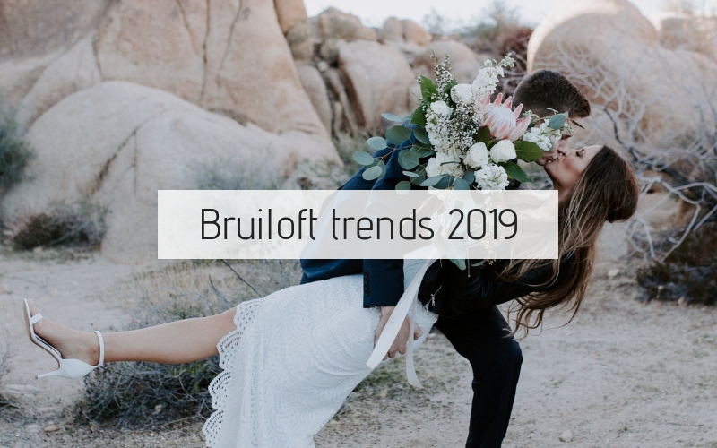 10 Bruiloft Trends 2019: dit wil je hebben!