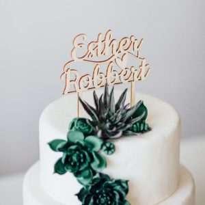 bruilot-decoratie-taarttopper-namen-gepersonaliseerd