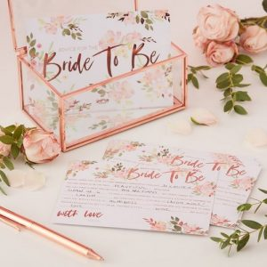 vrijgezellenfeest-decoratie-floral-hen-kaarten-advice-for-the-bride-to-be
