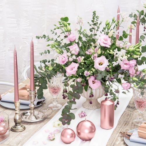 bruiloft-decoratie-dinerkaarsen-mat-rosegoud-2