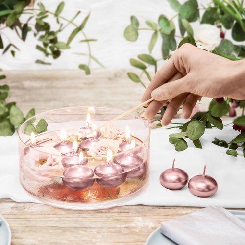 bruiloft-decoratie-drijfkaars-metallic-rose-gold-3