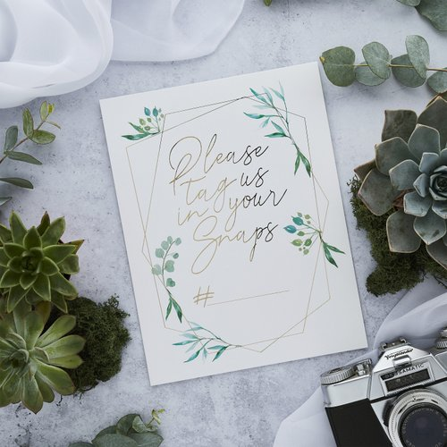 bruiloft-decoratie-instagram-kaartjes-geometric-greenery
