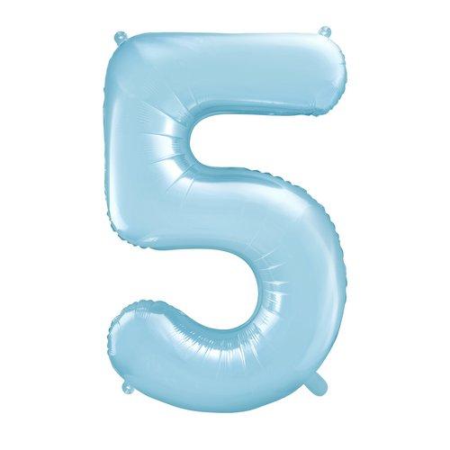 bruiloft-decoratie-mega-folieballon-blauw-cijfer-5