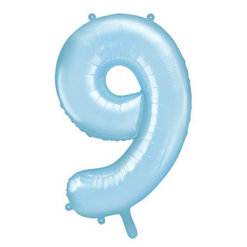 bruiloft-decoratie-mega-folieballon-blauw-cijfer-9