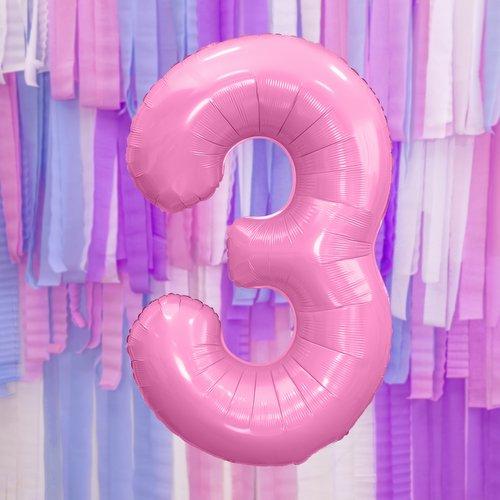 bruiloft-decoratie-mega-folieballon-roze-cijfer-3-3