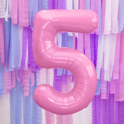 bruiloft-decoratie-mega-folieballon-roze-cijfer-5-1
