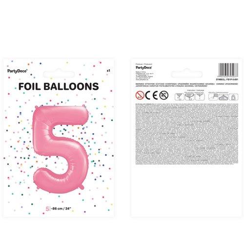 bruiloft-decoratie-mega-folieballon-roze-cijfer-5-2
