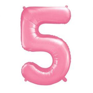 bruiloft-decoratie-mega-folieballon-roze-cijfer-5