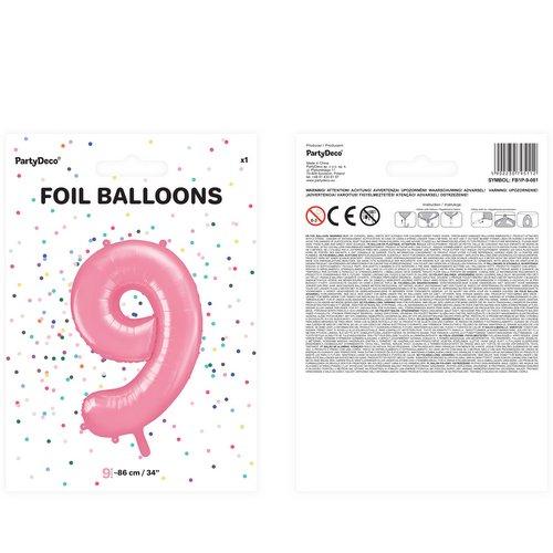 bruiloft-decoratie-mega-folieballon-roze-cijfer-9-2