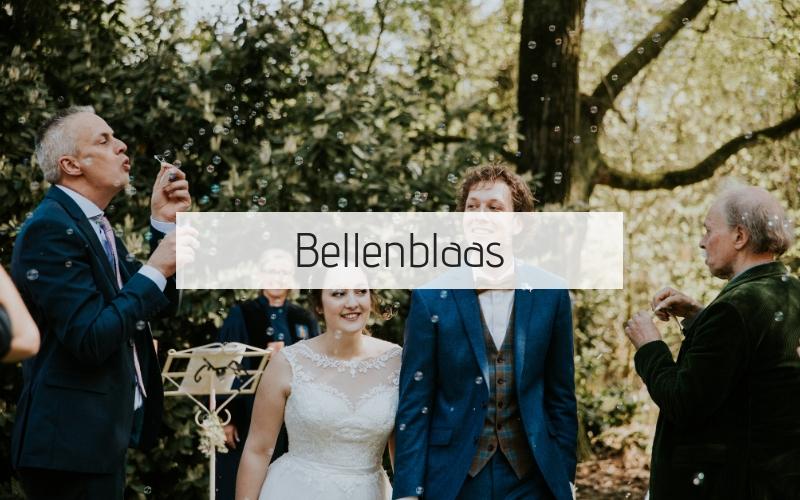 bellenblaas-bruiloft