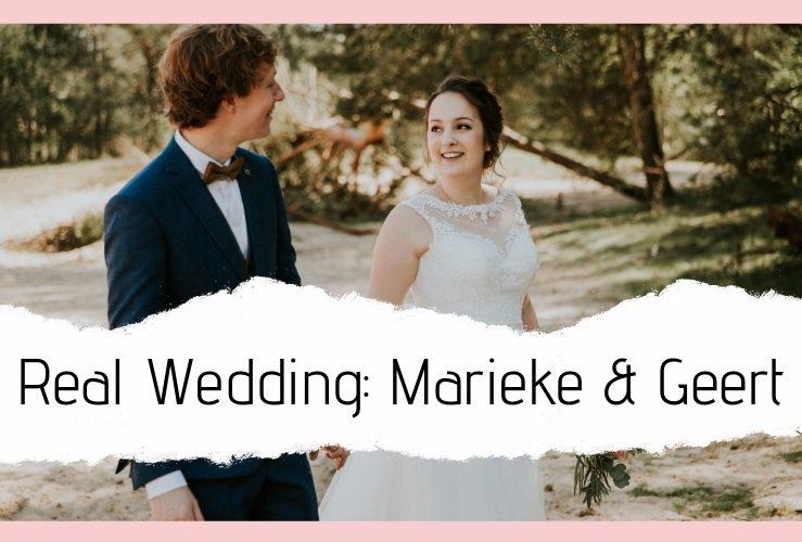REAL WEDDING | De bruiloft van eigenaren Geert & Marieke