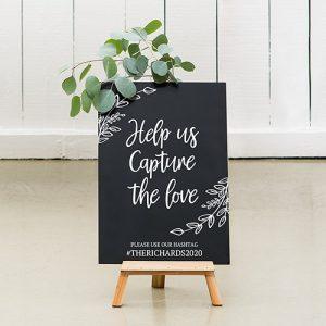 bruiloft-decoratie-krijtbord-capture-the-love-gepersonaliseerd-3