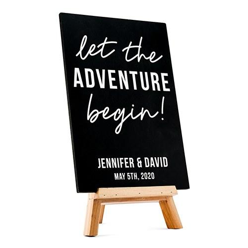 bruiloft-decoratie-krijtbord-let the-adventure-begin-gepersonaliseerd-2