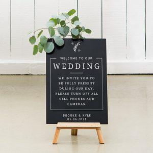 bruiloft-decoratie-krijtbord-welcome-to-our-wedding-gepersonaliseerd-3