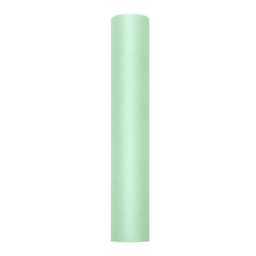 bruiloft-decoratie-rol-tule-mint-30cm