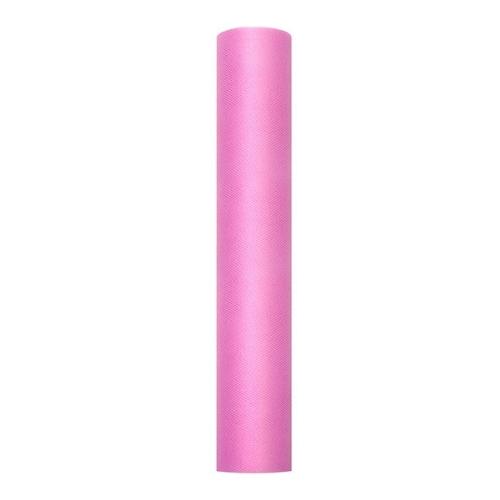 bruiloft-decoratie-rol-tule-roze-30cm