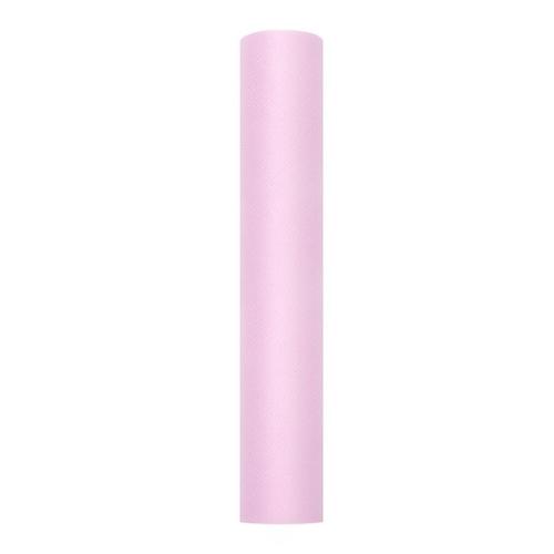 bruiloft-decoratie-rol-tule-pastel-roze-30cm