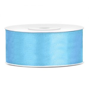 bruiloft-decoratie-satijnlint-25mm-licht-blauw
