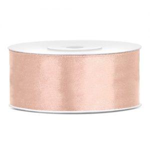 bruiloft-decoratie-satijnlint-25mm-peach