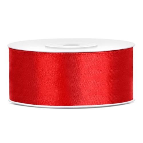 bruiloft-decoratie-satijnlint-25mm-rood