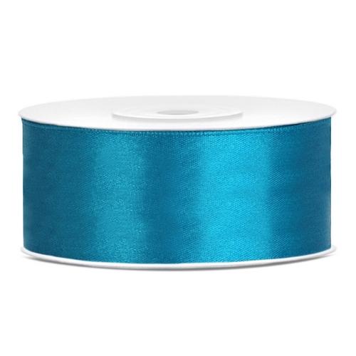 bruiloft-decoratie-satijnlint-25mm-turquoise