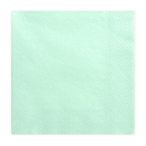 bruiloft-decoratie-servetten-mint