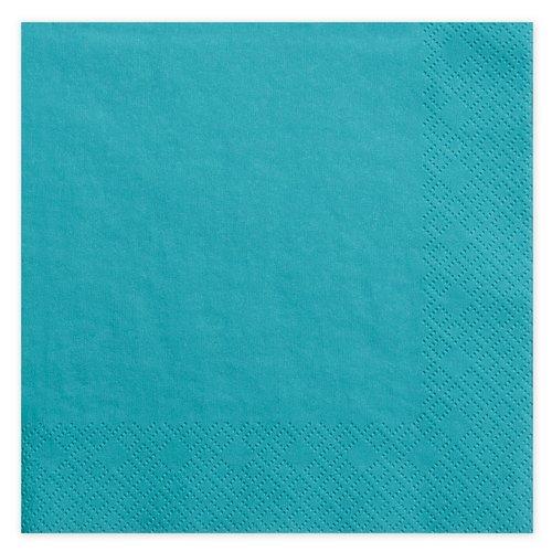 bruiloft-decoratie-servetten-turquoise