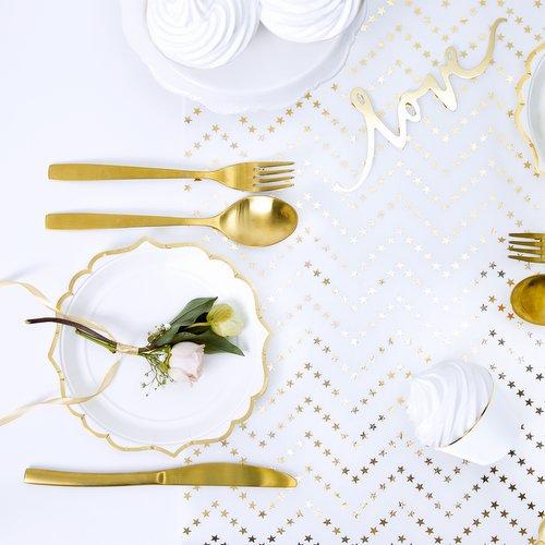 bruiloft-decoratie-tafelloper-golden-stars-2