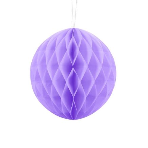 bruiloft-decoratie-honeycomb-lila