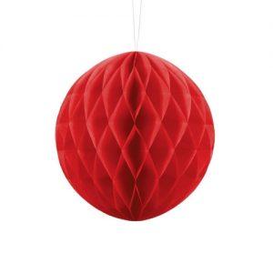 bruiloft-decoratie-honeycomb-rood
