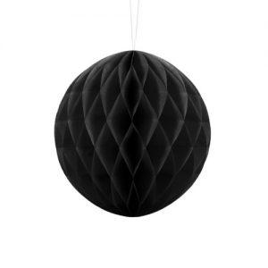 bruiloft-decoratie-honeycomb-zwart