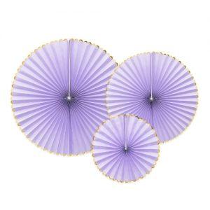 bruiloft-decoratie-paper-fans-lila-gold