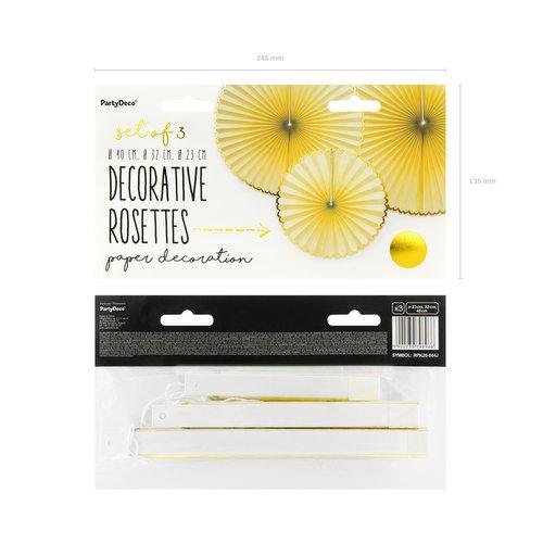 bruiloft-decoratie-paper-fans-yellow-gold-3