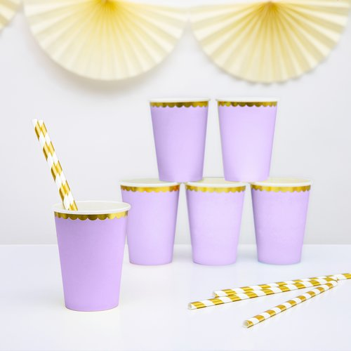 bruiloft-decoratie-papieren-bekertjes-pastel-perfection-lila-2