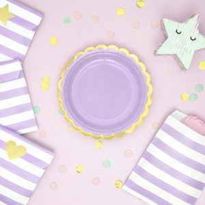 bruiloft-decoratie-papieren-bordjes-pastel-perfection-lila-3