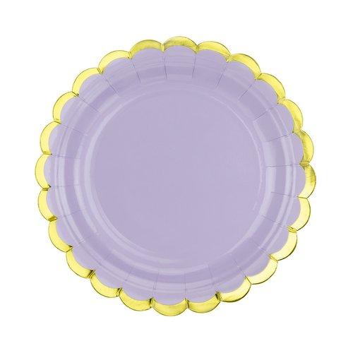 bruiloft-decoratie-papieren-bordjes-pastel-perfection-lila