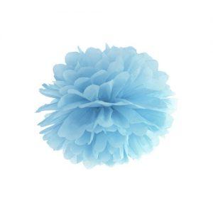 bruiloft-decoratie-pompom-misty-blauw